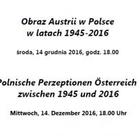 Obraz Austrii w Polsce  w latach 1945-2016