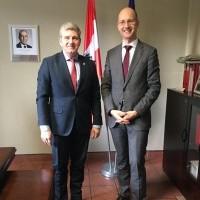 Wizyta Pana Martina Hermges, przedstawiciela Republiki Austrii w Polsce, w Konsulacie Austrii w Katowicach