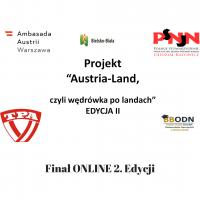 """Finał ONLINE 2. Edycji konkursu """"Austria-Land czyli wędrówka po landach"""""""