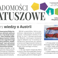 Konkurs wiedzy o Austrii
