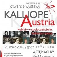"""Otwarcie wystawy """"Kalliope Austria. Kobiety w społeczeństwie, kulturze i nauce""""."""