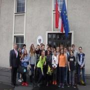 Wizyta klasy Ib z Gimnazjum nr 20 im. Karola Miarki w Katowicach w Rezydencji Konsulatu